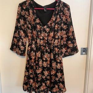 Dress, floral, fancy,
